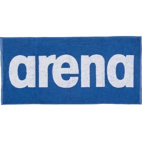arena Gym Soft Asciugamano blu/bianco